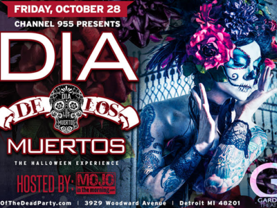 Mojo in the Morning's Day of the Dead – Halloween Party