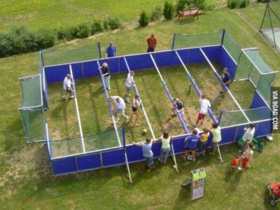 Human Foosball Tournament!